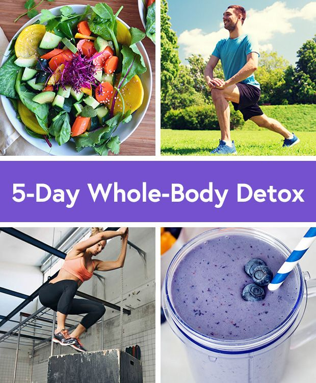 5 Day Workout Routine + Recipes for a Whole Body Detox