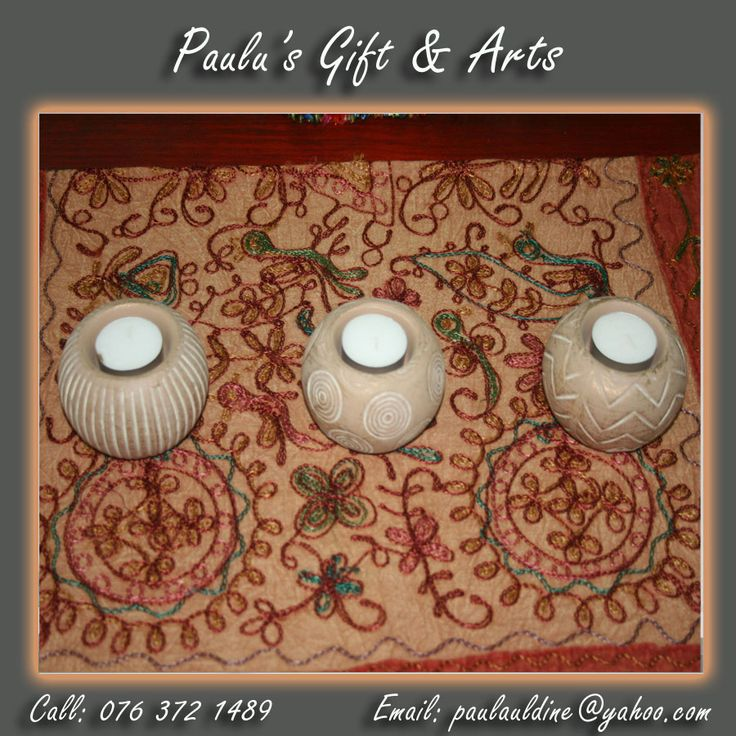 These stunning candle holders are available at our store in Diaz. Or call us on: 076 372 1489  See more at: tinyurl.com/qg7f74n  #Gifts #Arts #Crafts