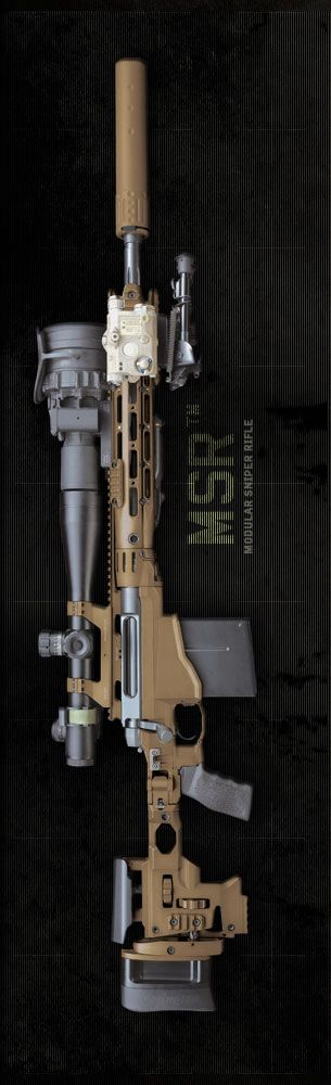 MSR - Modular Sniper Rifle by REMINGTON (MW3 COD?)