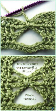 Crochet Butterfly Stitch Free Pattern - Crochet Butterfly Stitch Free Patterns