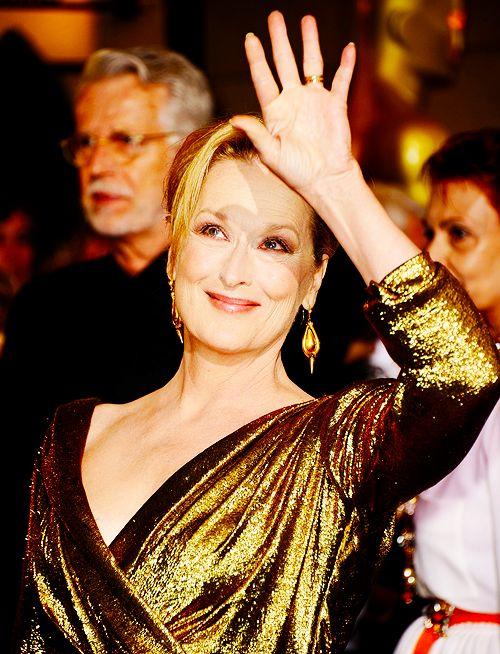 I hope I look as great as Meryl Streep when I'm 60. Flawless.