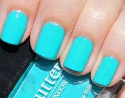 #blue #farbideen #nails #neue #short #springnailsshort N