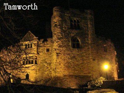 Tamworth Castle England