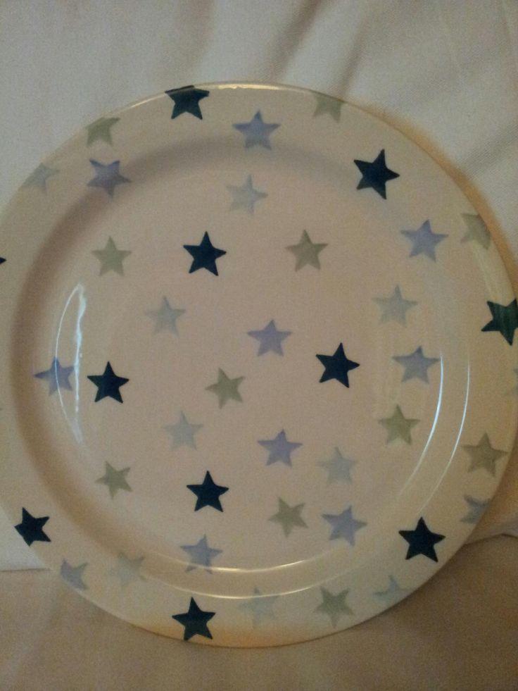 Emma Bridgewater WINTER STARS cake plate