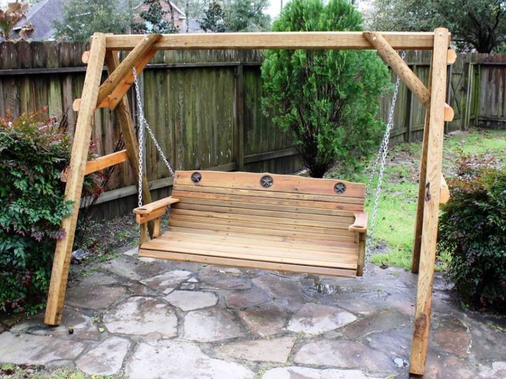 Best 20 Outdoor swing with canopy ideas on Pinterest Kids house