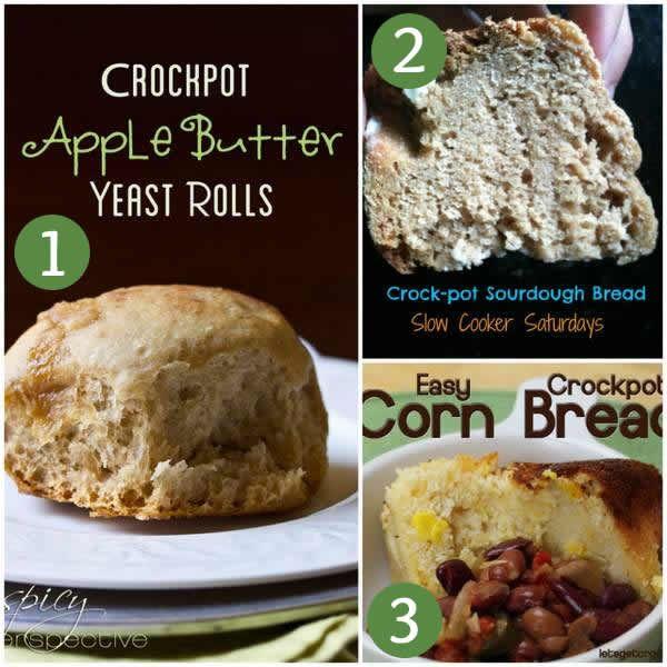 6 Crockpot Bread Recipes