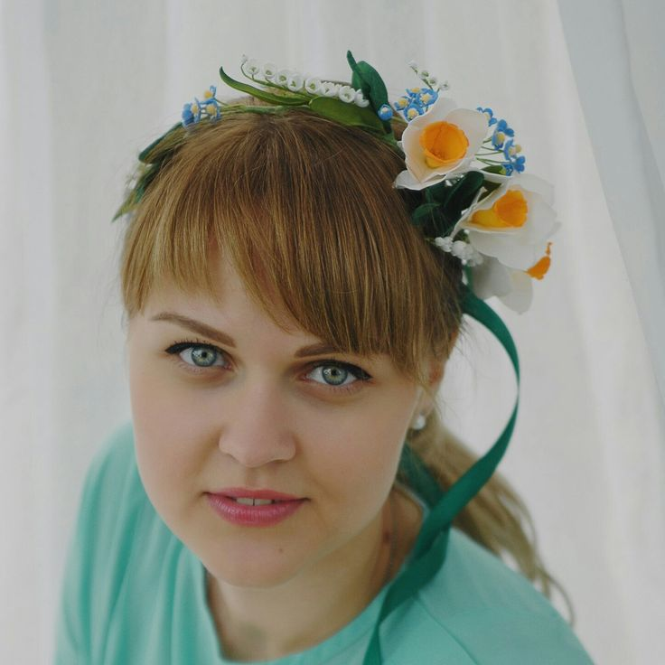 Hello Spring!Very nice flower crown😍 for you🌸🌻🌿Ready to ship🎁Gift for her