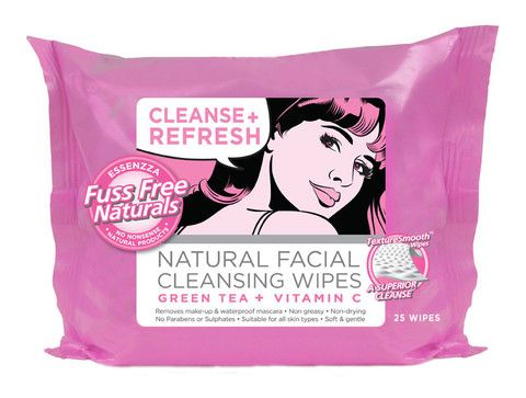 Cleanse + Refresh Wipes - Essenzza Fuss Free Naturals