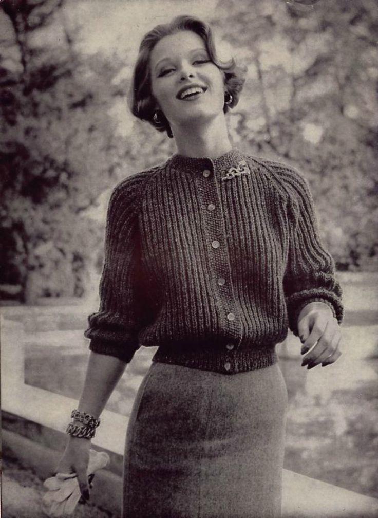 gueule-de-loupviolette: Vintage ( 1950s).