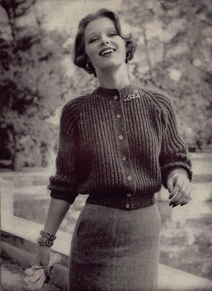 Vintage Fashion. 1950s
