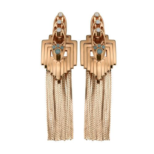 The Cools -- FLAPPER FRINGE EARRINGS by Mawi