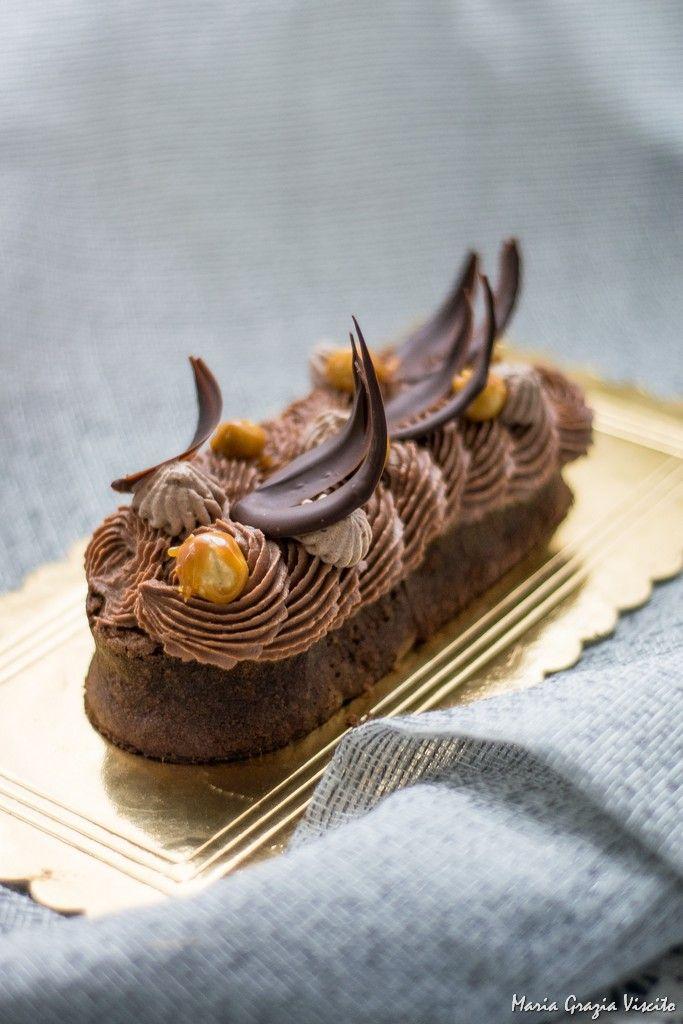 Cake gianduia noisette- cake gianduia hazelnut