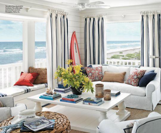 Beach Into Your Home Breezy Décor