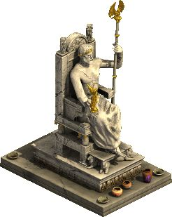 Statue of Zeus from the Forge of Empires video game