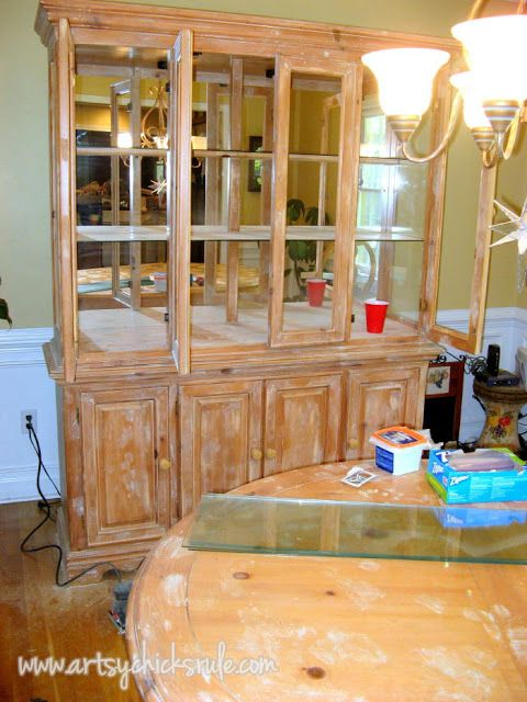 China cabinet and dining table re new china cabinets and for Chinese furniture restoration