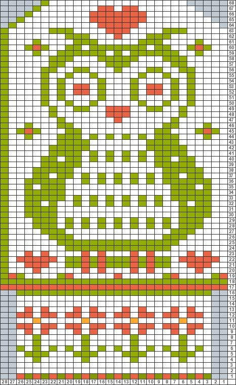 Tricksy Knitter Charts: Ugglevante Nepal (73332) by coloredkitsch