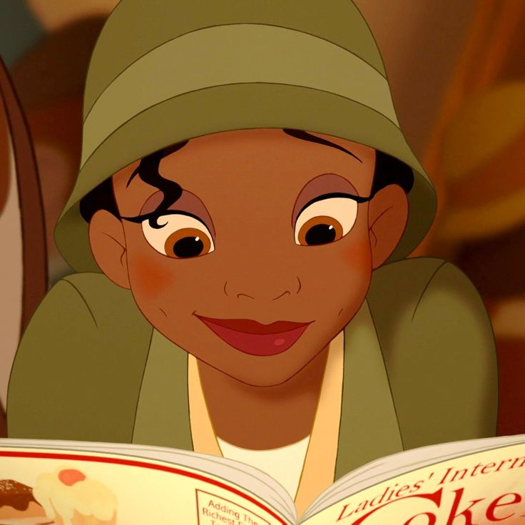 Image result for tiana reading