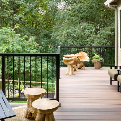 Porch Iron Deck Railing Design, Pictures, Remodel, Decor And Ideas
