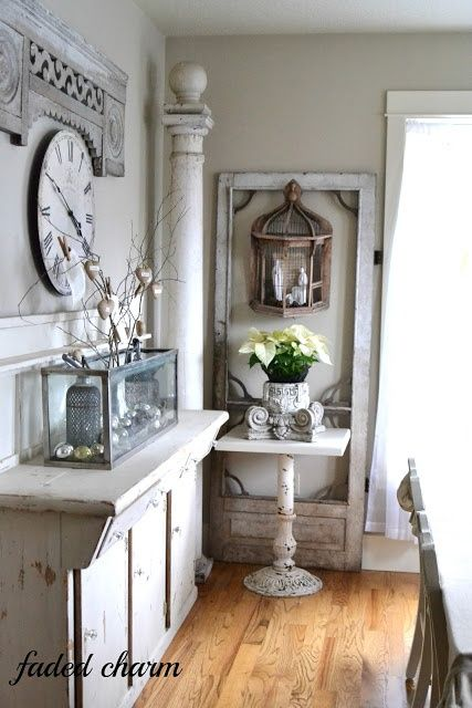 Decorating With Architectural Salvage - 25 Ideas For High End Style - Giddy Upcycled