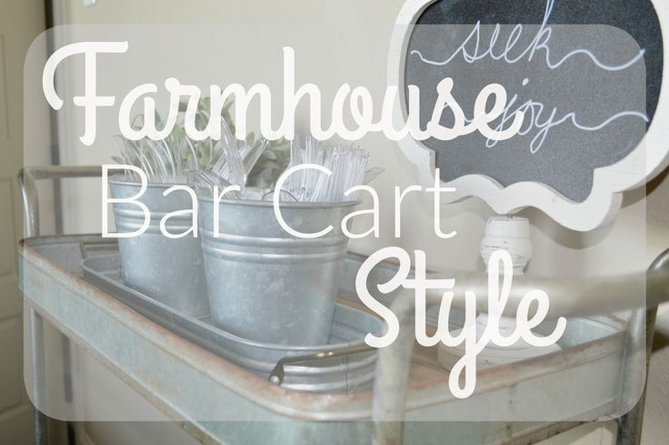 So yesterday I shared my Rustic Bar Cart+ Style post  where I just happened to find the perfect rustic, farmhouse bar cart in Hobby Lo...
