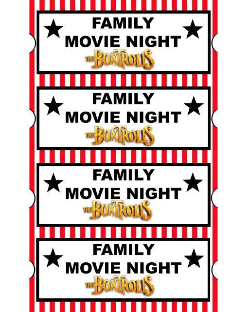 family movie night whereventcom