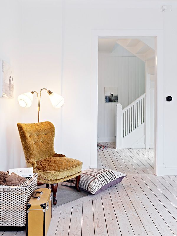 wood floor  La maison d'Anna G.: Björlandavägen