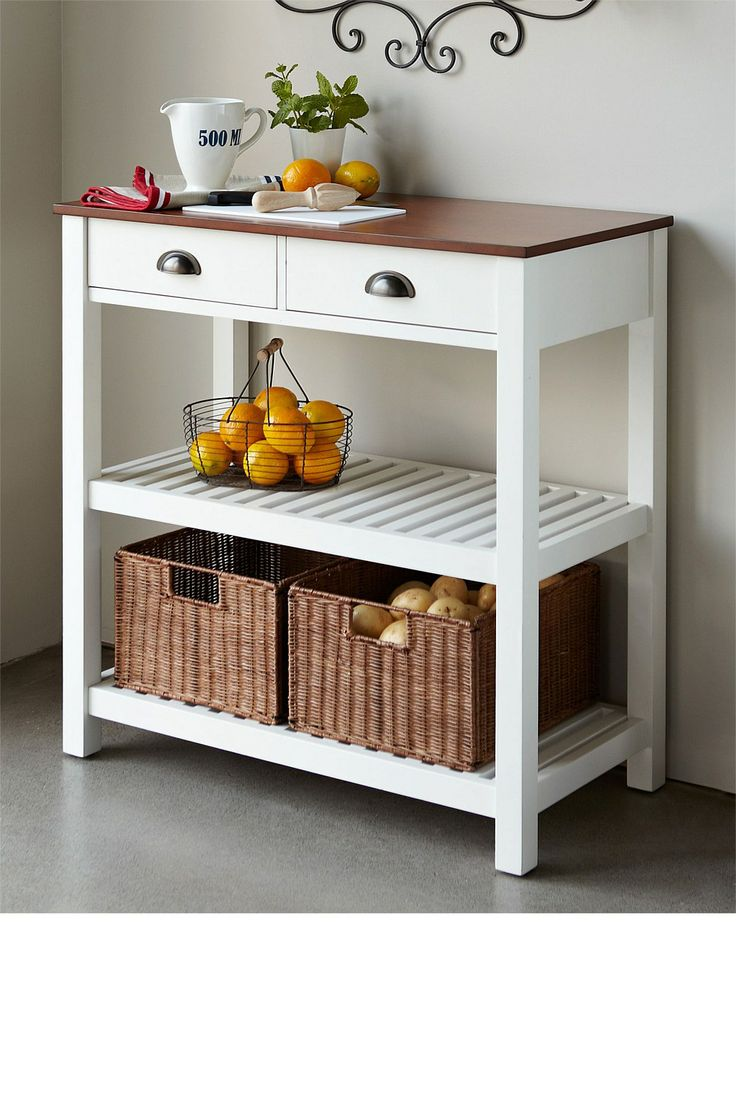 I Like The Idea Of A Portable Small Island Or Table For The Kitchen To Add More Storage