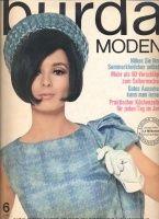 BURDA MODEN 1966 06