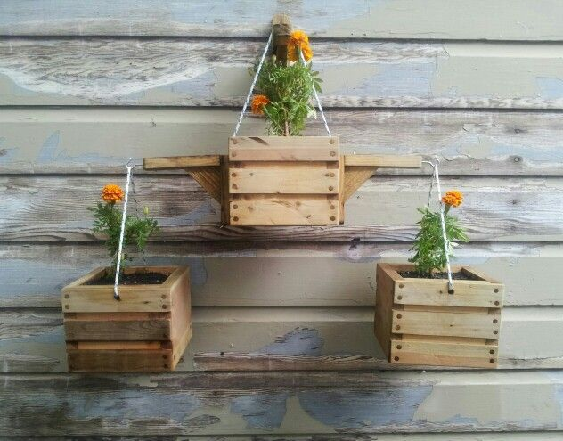 17 Best Images About My Rustic Planters On Pinterest