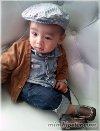 Kid got swag!