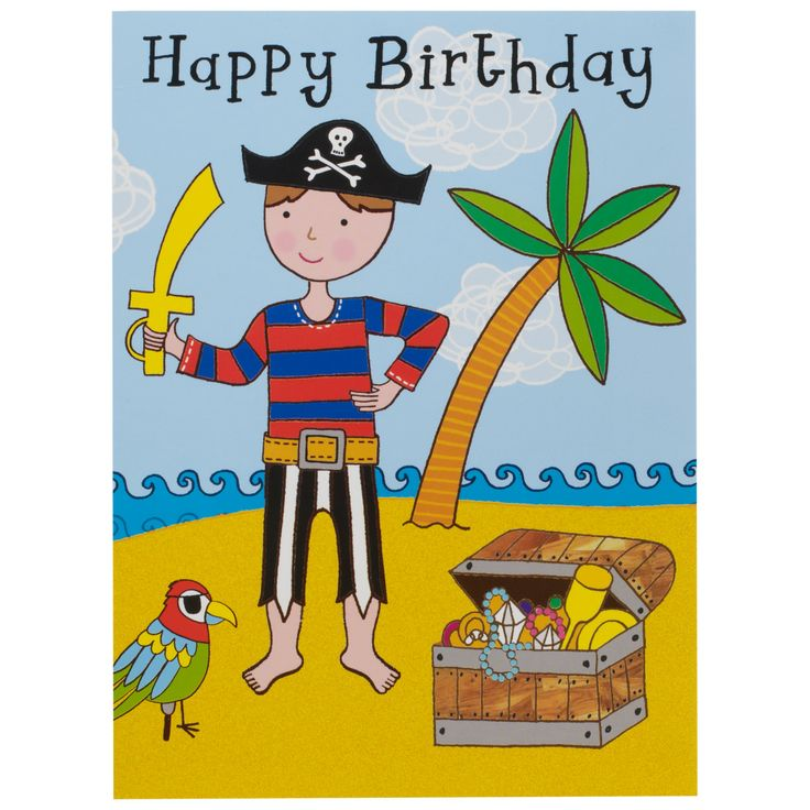Best 25 Cheap birthday cards ideas – Pirate Birthday Card Sayings