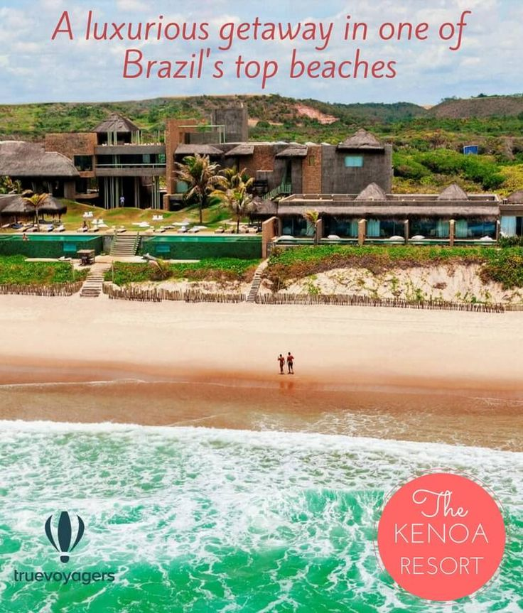 Kenoa Spa and Resort in Brazil: a luxurious getaway between lagoons and coconut trees
