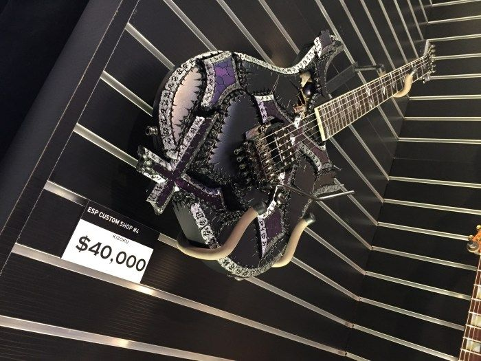 20 Coolest Guitars I Saw At The NAMM Show 2015 - Metal Injection