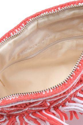 MELISSA ODABASH . #melissaodabash #bags #clutch #knit #hand bags #