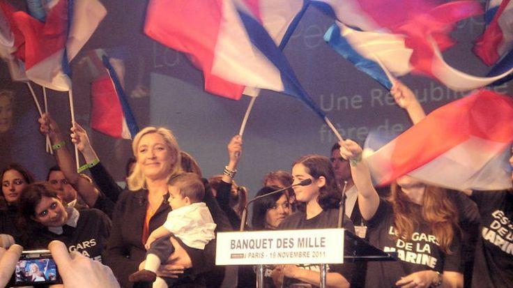 Le banche russe chiedono il pagamento del debito alla signora Le Pen