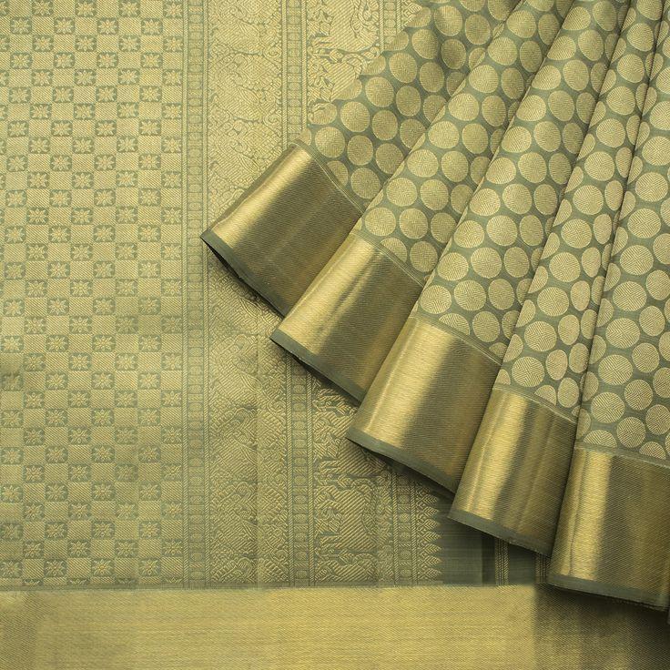 Kanakavalli Handwoven Kanjivaram Silk Sari 1013090 - Brands / Kanakavalli - Parisera