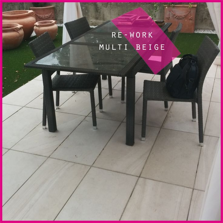 collezione RE-WORK da #esterni !! // RE-WORK collection for #outdoor. Becattini Arredobagno #abk #ceramica #cool #ceramics #gres #garden #jardin #giardino #design #tile #tiles #decor