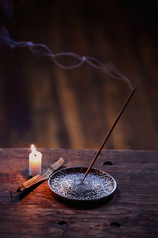 "classyexistence: "" Adorn by Sarah Lewis Jasmine Incense by Free People (buy here) """