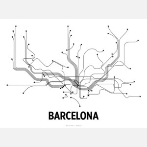 Barecelona Print 61x46, 21€, now featured on Fab.