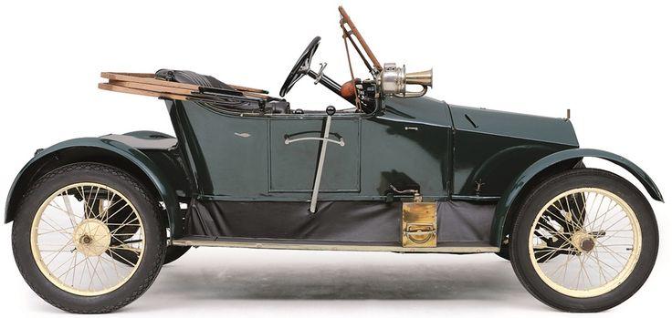 Vergeleken bij veel andere cyclecars ziet deze Humber Humberette er nog het meest uit als een conventionele auto.