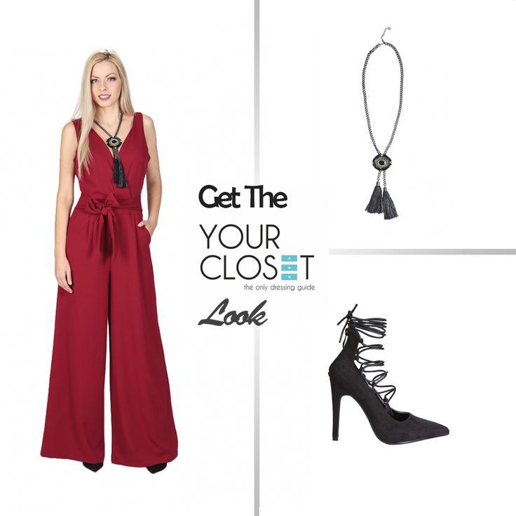 Ολόσωμες φόρμες: η πιο μοδάτη επιλογή για τη ντουλάπα σας!  #fashion #fashionlover #getthelook #lookoftheday #jumpsuit #highheels #red #black #autumn #winter #newcollection #follow #woman #womanstyle #fashionblog #fashionblogger #newcollection #womenswear #bestoftheday #fashionista #fashionaddict
