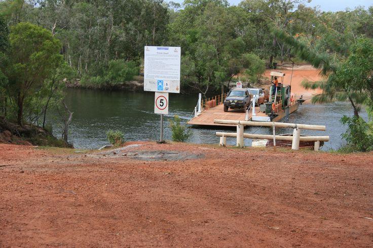 Jardine River Ferry Crossing, Cape York Qld.