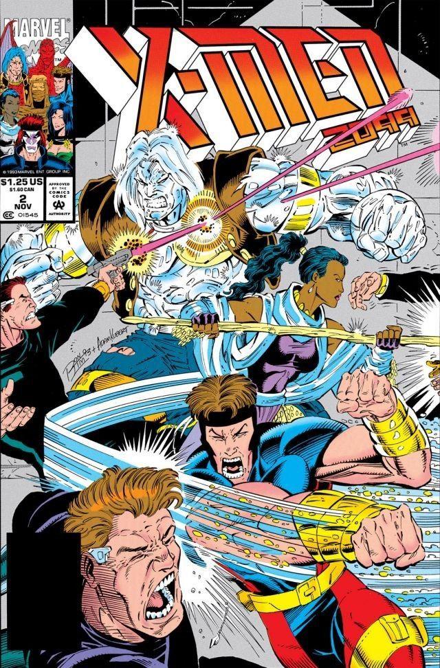 X-Men 2099 # 4 near mint 1993 series comic book