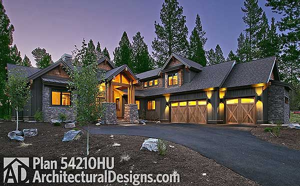 #mountain #houseplan 54210HU comes to life. STUNNING!!! @adhouseplans #readywhenyouare
