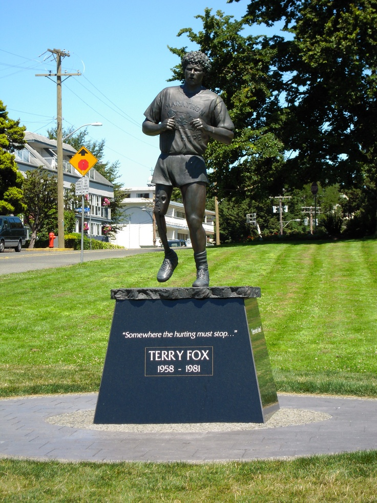 Mile 0  Victoria, BC (Photo by Aryan Baines)