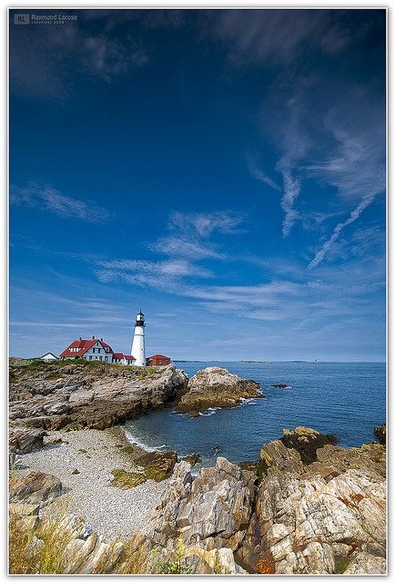 ✯ Cape Elizabeth, Maine. Exactly how I picture it.