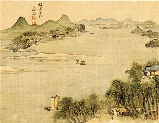 (Korea) by Jeong Seon (1676-1759).