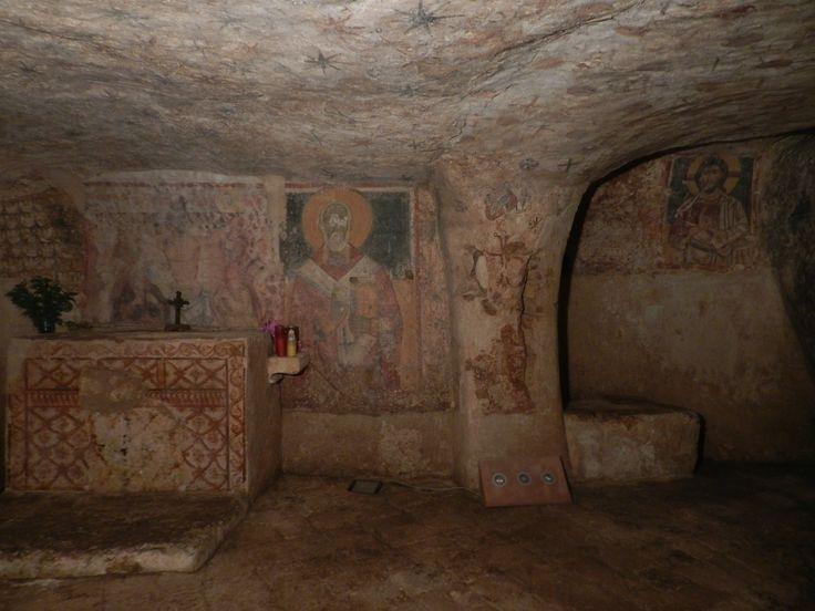 Ugento - Cripta del Crocefisso