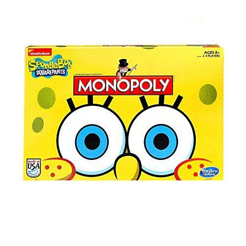Monopoly Game SpongeBob SquarePants Edition Hasbro http://www.amazon.com/dp/B00NO86S56/ref=cm_sw_r_pi_dp_trs8ub1ZQSJDA