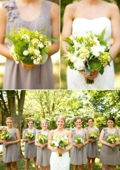 DIY Asheville Wedding Bouquets #flowers #wedding #bride #bridesmaid